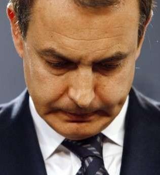Zapatero y las lágrimas de cocodrilo.